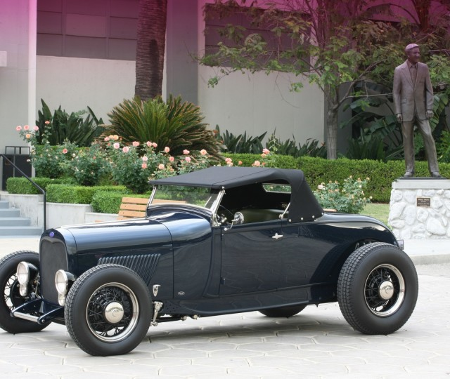 Tom Lieb's 1929 Ford Roadster 1